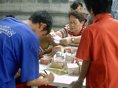 Distribution of Family Planning Supplies